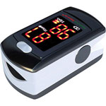 NatureSpirit Fingertip Pulse Oximeter Rechargeable with LED Display