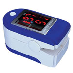 NatureSpirit Fingertip Oximeter With Red LED Display