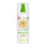BabyGanics Cover Up Baby Sunscreen Spray SPF 50+ Fragrance Free, 6 oz