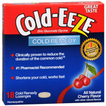 Cold-EEZE Cold Remedy Lozenges, Cherry, 18 ea