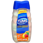 Tums Ultra Maximum Strength Antacid/Calcium Supplement, Assorted Fruit, 160 ea