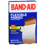 Band-Aid Flexible Fabric Bandages, Extra Large, 10 ea