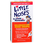 Little Noses Decongestant Nose Drops, Gentle 1/8% Formula, Infants & Children, .5 fl oz