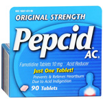 Pepcid AC Acid Reducer, Tablets, 90 ea