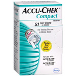 Accu-Chek Compact Test Drums, 51 Tests, 3 ea