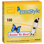 FreeStyle Test Strips (Monitor Sold Separately), 100 ea