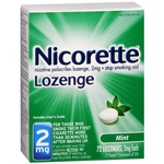 Commit Stop Smoking Lozenges, Mint Flavor, 2mg each, 72 ea