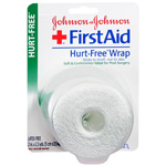 Johnson & Johnson First Aid, Hurt-Free Wrap, 2 inch, 1 ea