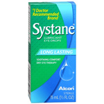 Systane Long Lasting Lubricant Eye Drops, 15ml, .5 fl oz