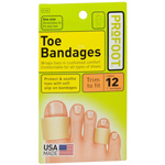 Profoot Care Toe Bandages, Medium, 4