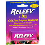 Releev 1-Day Cold Sore Symptom Treatment, .2 oz