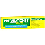 Preparation H Hemorrhoidal Cream, Maximum Strength Pain Relief, .9 oz
