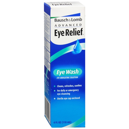 Advanced Eye Relief Eye Wash, 4 fl oz 12165