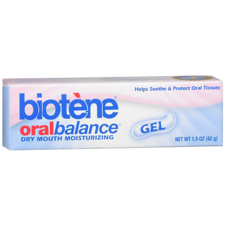 Biotene Oral Balance, Dry Mouth Relief Moisturizing Gel, 1.5 oz