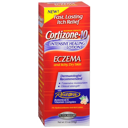 Cortizone 10 Intensive Healing Lotion, Eczema and Itchy, Dry Skin, 3.5 oz
