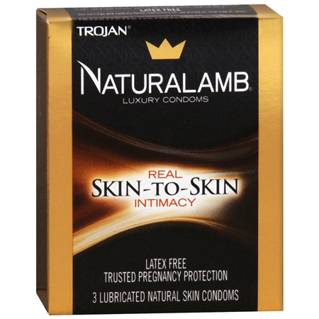 Trojan Condoms Trojan Naturalamb Skin 3 Pack Condoms 261377