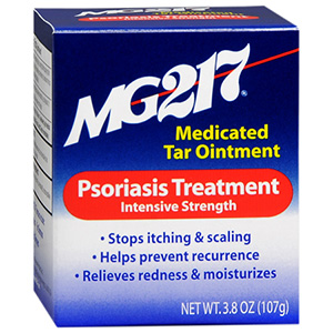 Triton Mg 217 intensive strength medicated tar ointment for psoriasis - 3.8 oz