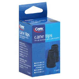 Carex Cane Tips 1 pair