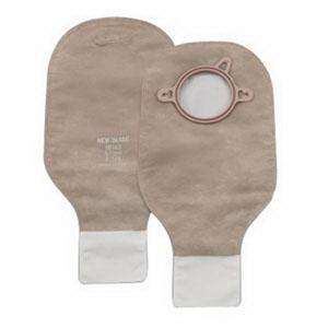 "New Image Drainable Pouch with Filter, Beige 1 3/4"", 10ea, 18142 280485"