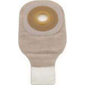 "Premier Drainable Pouch, Pre-Sized Convex Flextend Skin Barrier, with Tape, Transparent 3/4"", 5ea, #8610 280537"