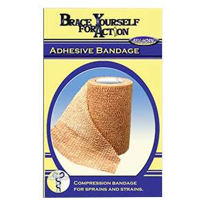 Bell Horn - Brace Yourself for Action - Adhesive Bandage 3""