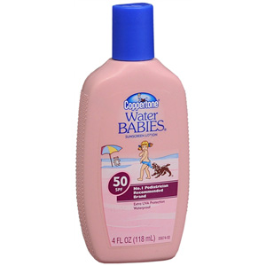Coppertone Water Babies Lotion SPF 50, 4 oz