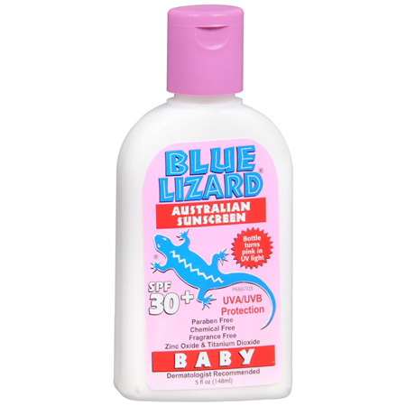 Blue Lizard Baby Australian Suncream, SPF 30+, 5 oz