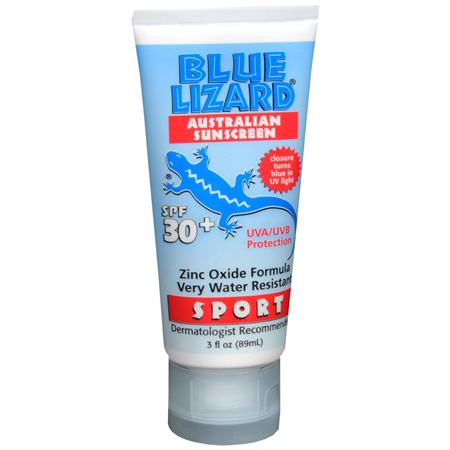 Blue Lizard Sport Australian Sunscreen, SPF 30+, 3 fl oz 286425