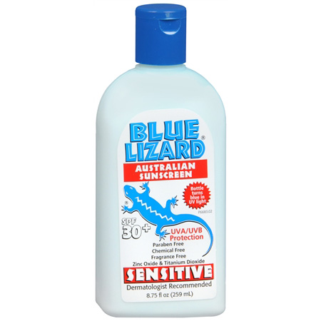 Blue Lizard Sensitive Australian Sunscreen, SPF 30+, 9 fl oz 286547