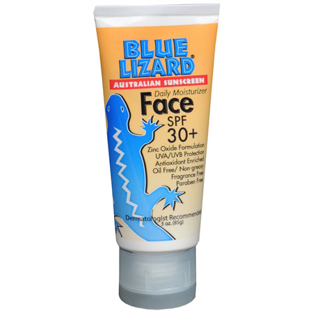 Blue Lizard Face Australian Sunscreen, SPF 30+, 3 fl oz 286553