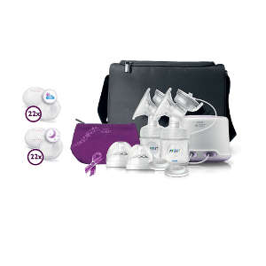 Philips AVENT Comfort Double Electric Breast Pump Set 422000