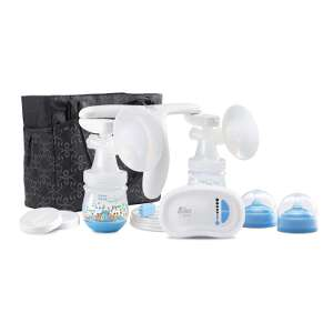 The First Years Quiet Expressions Double Electric Breast Pump 422521