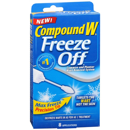 Compound W Freeze Off, 8 ea